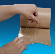 Non carrier adhesive transfer tape