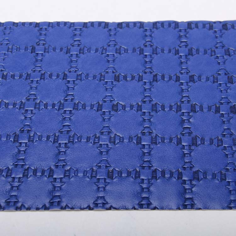 1.1mm woven pattern pu artificial leather for making tote bag
