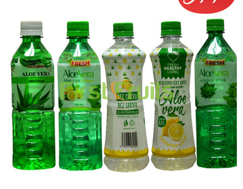 JFF Delicious Pure fresh Aloe vera soft juice/drink from tropical original farms