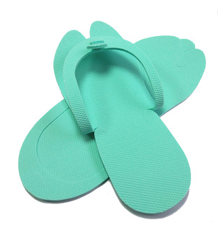 Wholesale Customized Bedroom Slippers EVA Salon Flip Flops for airline / home
