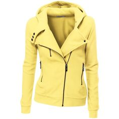 Zip up cotton fleece Hoodies for women