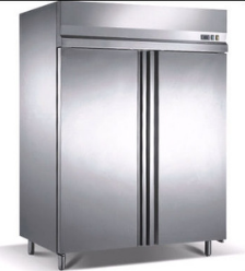 New Europe-type commercial stainless freezer fridge BKN-1000LD-2G/ commercial refrigerator