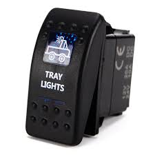 new model led indicator light control switches