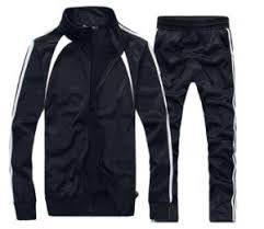 Men Running, Jogging Sport Blank Track Suit